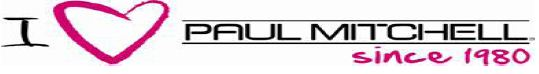 I love Paul Mitchell logo