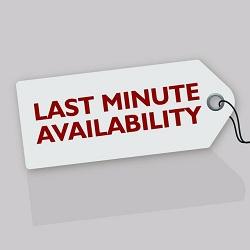 last minute bookings
