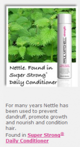 Nettle in Super strong Conditioner