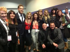 Grove Experience Team at  Paul Mitchell show 2013