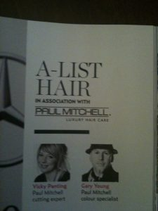 Magazine work for Paul Mitchell