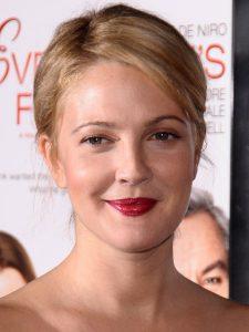 Drew Barrymore round faceshape