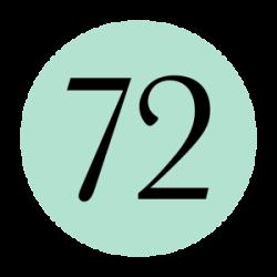 Hair 72 logo